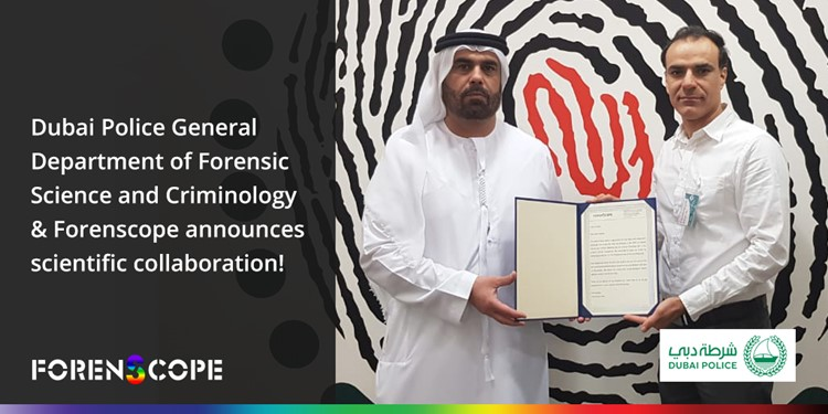 Dubai Police General Department Of Forensic Science And Criminology Forenscope Announces Scientific Collaboration Forenscope Mobile Multispectral Imaging Systems